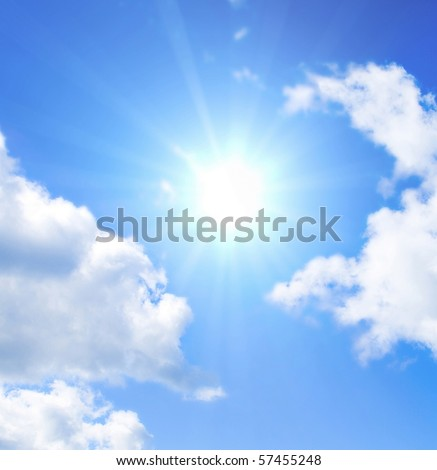 Sun Shining Bright In The Skies