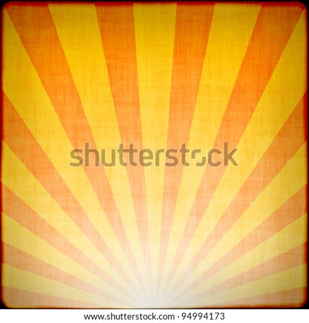 Sunbeams abstract background - stock photo