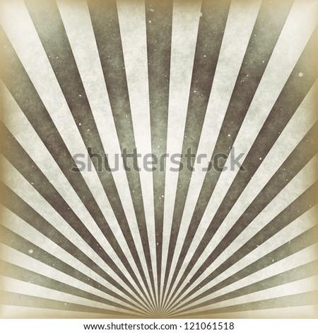 Sunbeams grunge background in vintage style. - stock photo