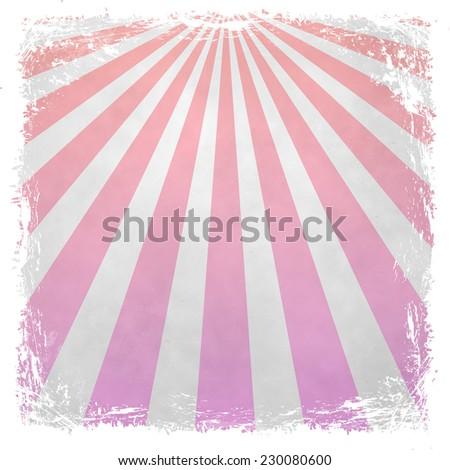 Sunbeams grunge background vintage style - stock photo