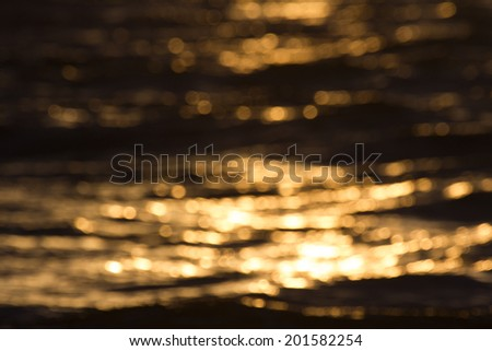 sundown waves texture - stock photo