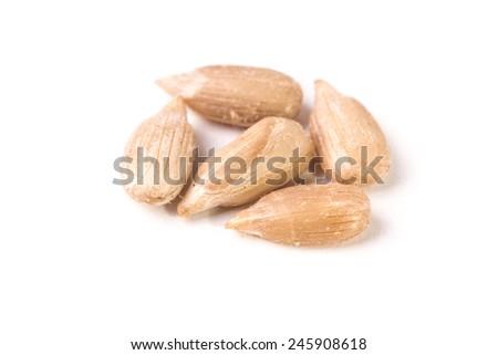 sunflower kernels - stock photo