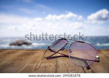 Sunglasses, Aviator Glasses, Sun. - stock photo