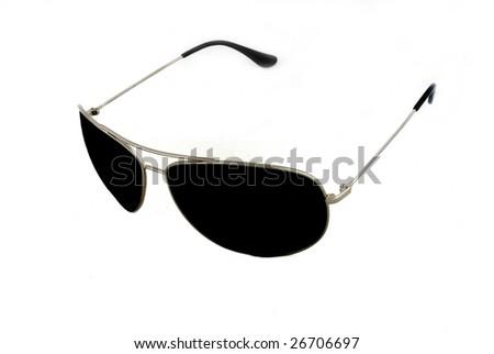 Sunglasses isolated 1 - stock photo
