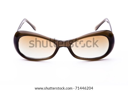 Sunglasses isolated on a white background
