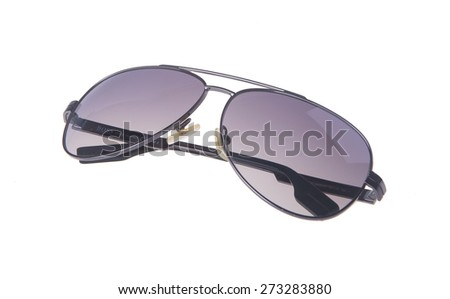 sunglasses isolated on the background. sunglasses isolated on the background. - stock photo