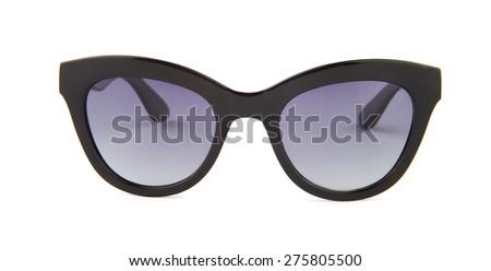 sunglasses isolated on the white background - stock photo