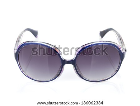 Sunglasses. Isolated on white background