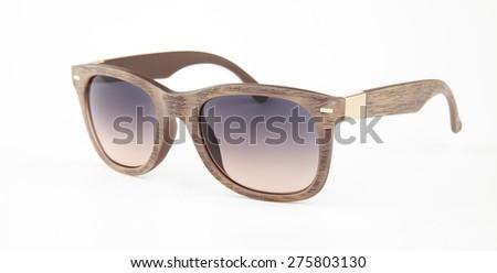 Sunglasses. Isolated on white background - stock photo