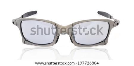sunglasses isolated white background  - stock photo