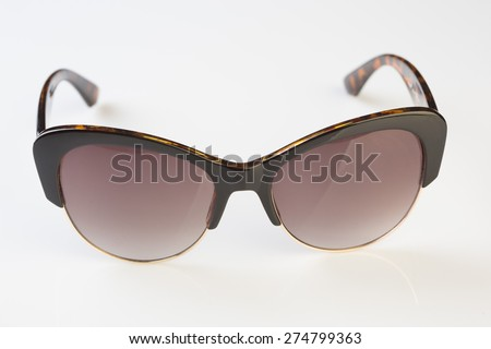 Sunglasses  white background