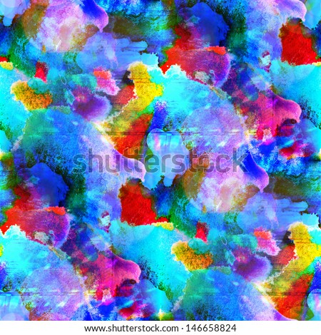 sunlight seamless abstract, art red, blue texture watercolor wallpaper background