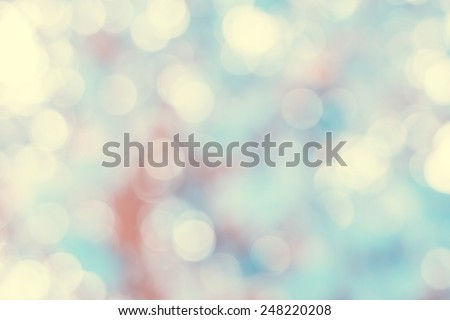 Sunny abstract green nature background, selective focus  - stock photo