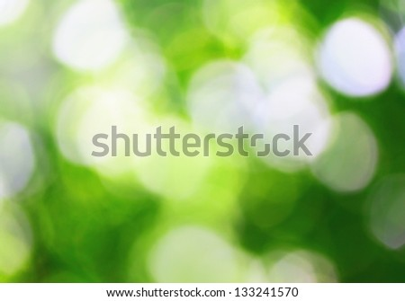Sunny and full of energy abstract nature background - stock photo