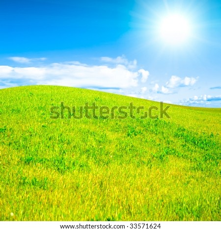 Sunny hills of happiness!
