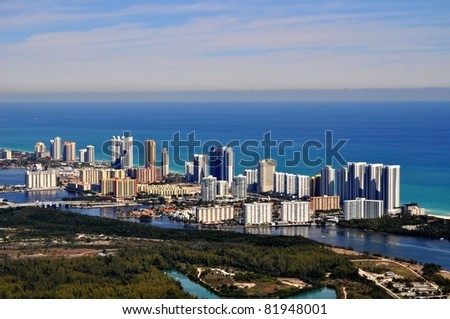 Sunny Isles Beach - stock photo