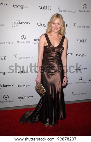 "Sunny Mabrey at the 2011 Art Of Elysium ""Heaven"" Gala, Annenberg Bldg., California Science Center, Los Angeles, CA. 01-15-11"