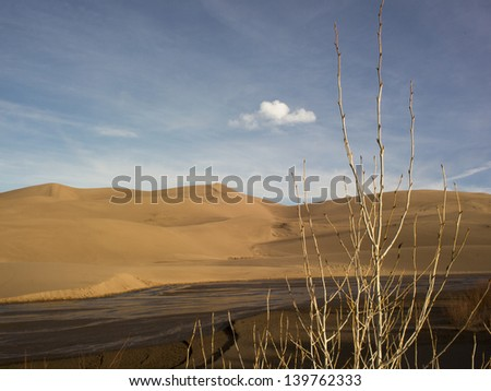 Sunrise at Sand Dunes National Park, Colorado