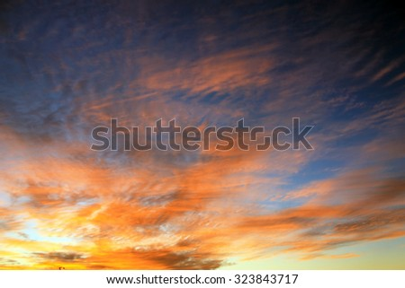 Sunrise background