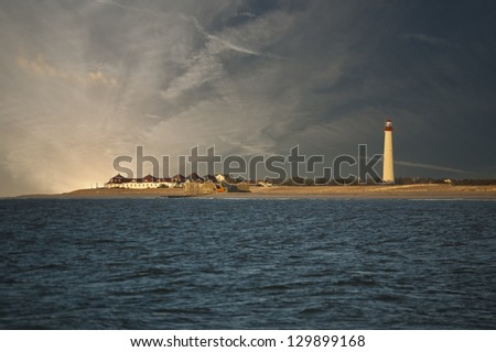 Sunrise on the Cape - stock photo