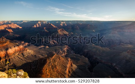 Sunrise over Grand Canyon South Rim