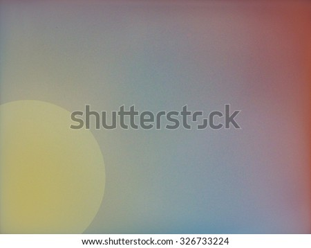Suns atmosphere - abstract art - stock photo