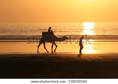 Sunset - stock photo