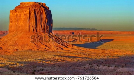 Sunset at Monument Valley, Arizona, USA