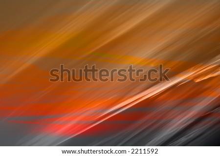 sunset fire texture - stock photo