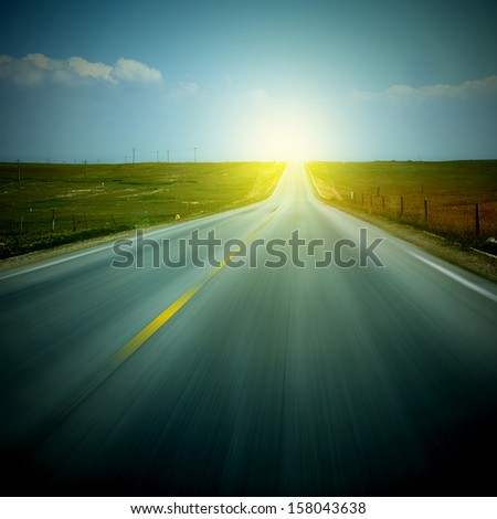 Sunset Highway Sunshine