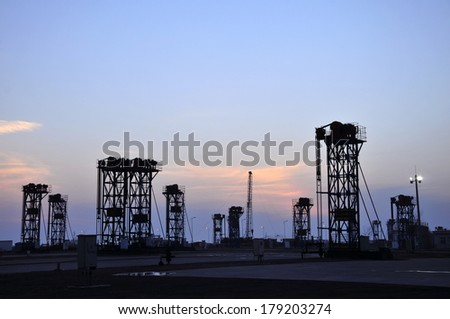 Sunset oil pump