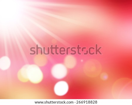 Sunset Paradise Burning Skies,abstract blur background for web design, colorful, blurred, wallpaper,illustration - stock photo