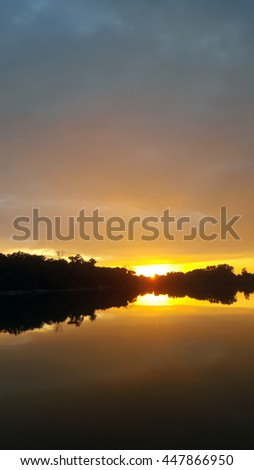 Sunset River