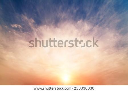Sunshine - stock photo