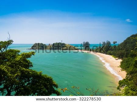 Sunshine Coast Remote Resort  - stock photo