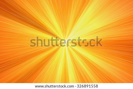 sunshine rays texture backgrounds. sunbeam pattern - stock photo