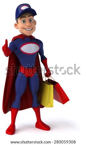Super mechanic - stock photo