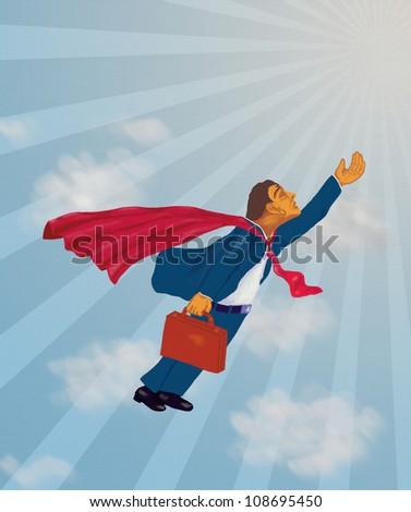 Super Performer Professional - stock photo