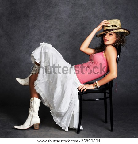 Pink Cowboy Boots Stock Photos, Royalty-Free Images & Vectors ...