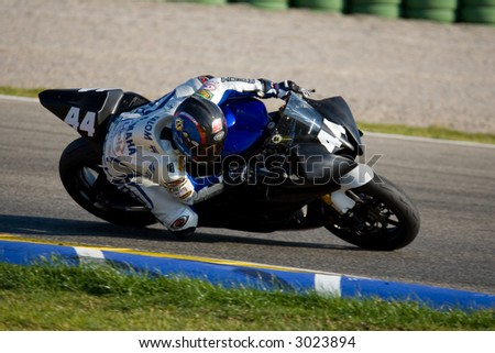 Superbikes Winter Training 2007 in Cheste Circuit of Valencia (Spain)