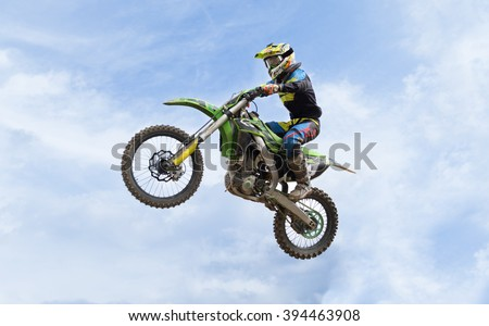 Supercross - stock photo