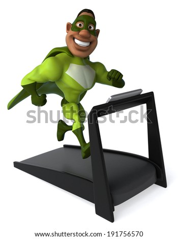 Superhero - stock photo