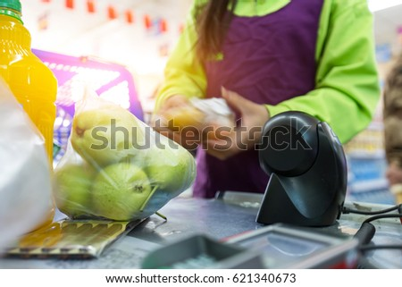 how to use a cashier