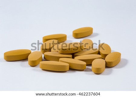 supplements and vitamins capsules