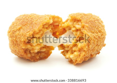 Suppli on a white background