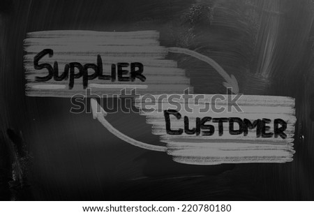 Supply Chain Concept - stock photo