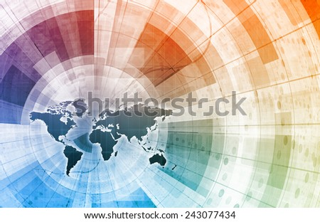 Supply Channel Coordination or Logistics Chain as Concept - stock photo