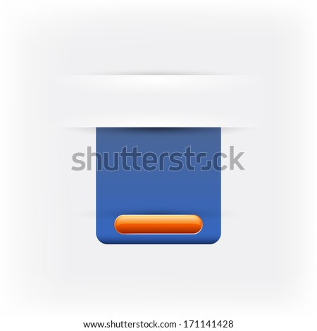 Support web navigation, background for text - stock photo