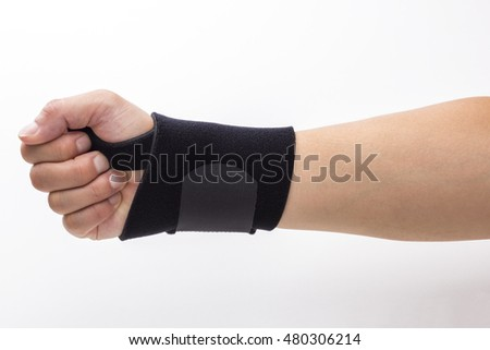 Supporter for sports, protect the wrist