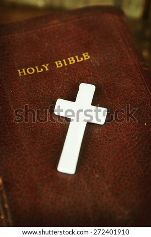 Supporting Religion - stock photo